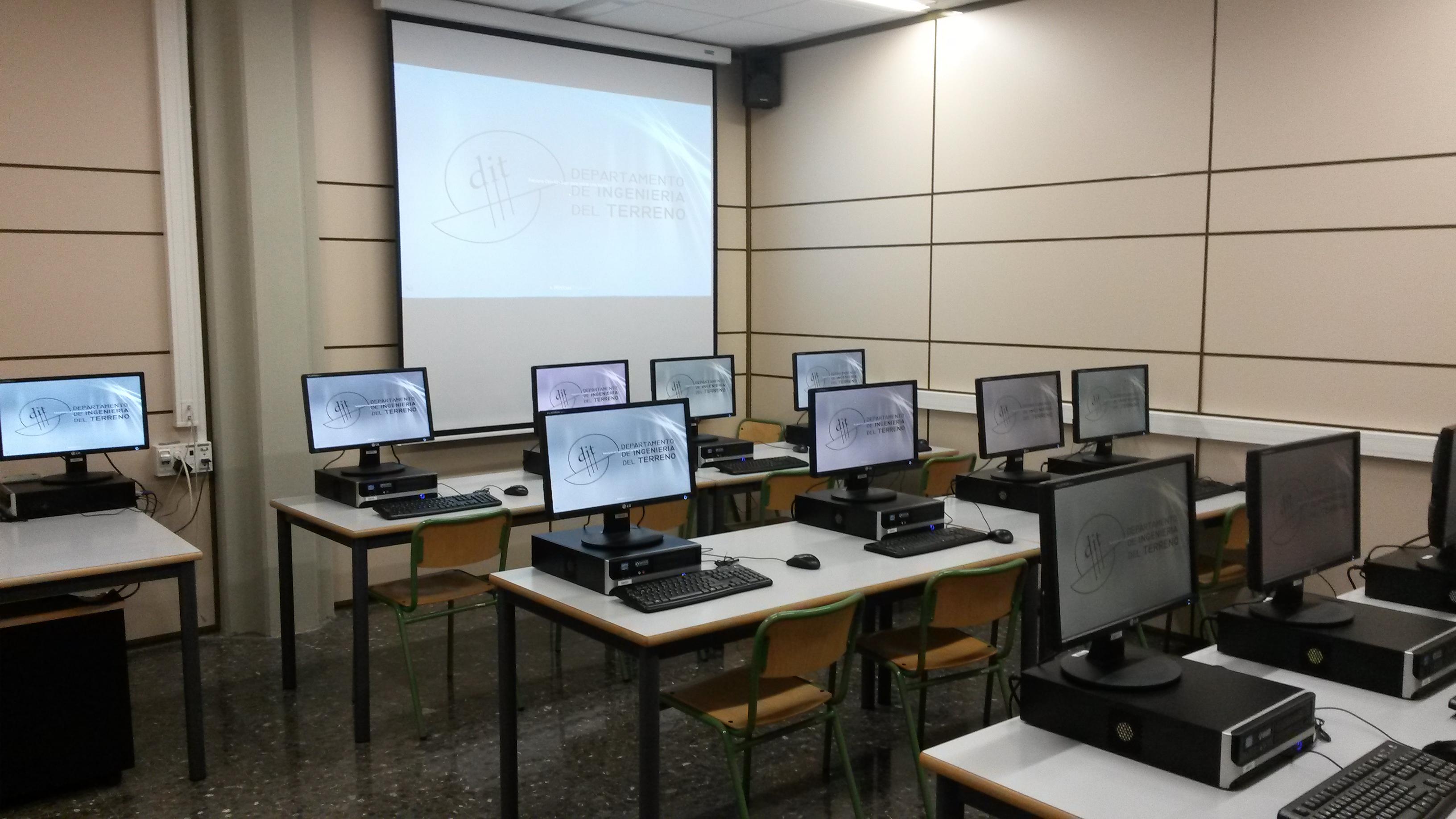 mantenimiento informático para aulas de formación
